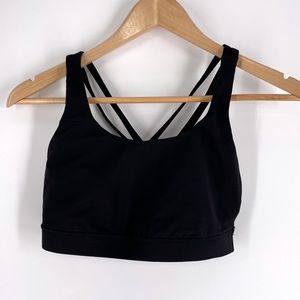 Lululemon Size 8 Black Bralette